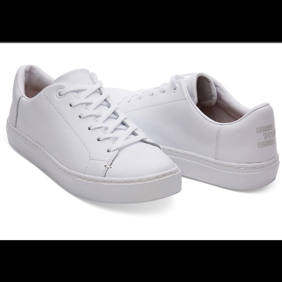 Toms Shoes | Toms White Sneakers Worn